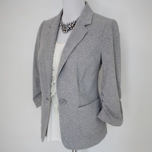 THE LIMITED Size Medium Gray Suit Jacket Blazer
